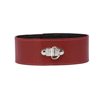 Neck cuffs - red
